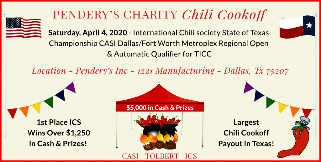 Charity Chili Cookoff Information