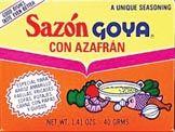 Sazon Goya-Saffron Flavor
